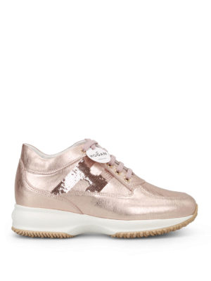 Hogan: trainers - Interactive sequin H  sneakers