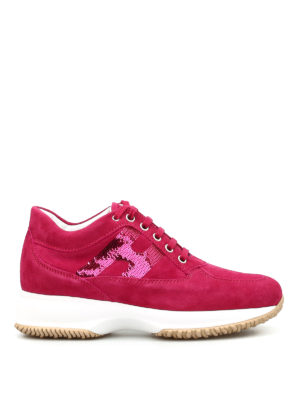 Hogan: trainers - Interactive sequinned H