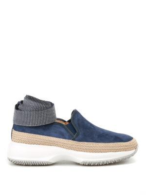 Hogan: trainers - Interactive slip-ons with ribbons