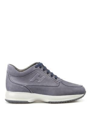 Hogan: trainers - Interactive soft leather sneakers