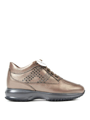 Hogan: trainers - Interactive strass H sneakers