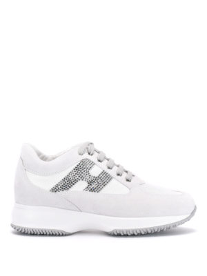 Hogan: trainers - Interactive strass sneakers