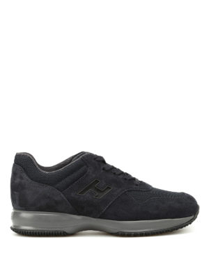 Hogan: trainers - Interactive suede and mesh sneakers