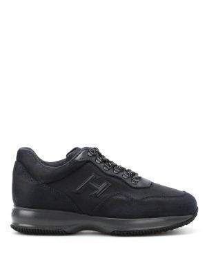 Hogan: trainers - Interactive Trekking blue sneakers