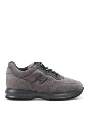 Hogan: trainers - Interactive Trekking grey sneakers