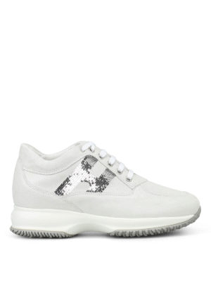 Hogan: trainers - Interactive white sneakers
