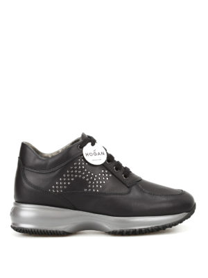 Hogan: trainers - Laminated dot H Interactive