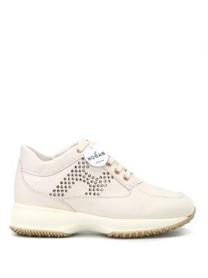 HOGAN: sneakers - Interactive con H pallini laminati