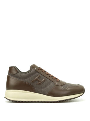 Hogan: trainers - Leather and nylon Interactive N20