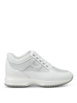 Hogan: trainers - Leather interactive sneakers