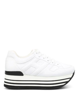 Hogan: trainers - Maxi 222 leather sneakers