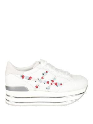 Hogan: trainers - Maxi H222 flowers H sneakers