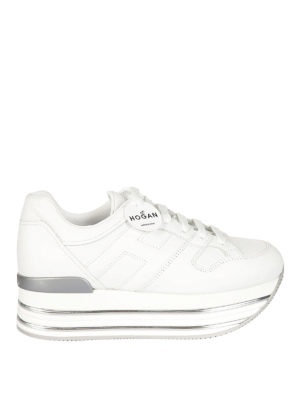 Hogan: trainers - Maxi H222 leather sneakers