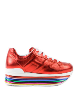 Hogan: trainers - Maxi H222 multicolour sole sneakers