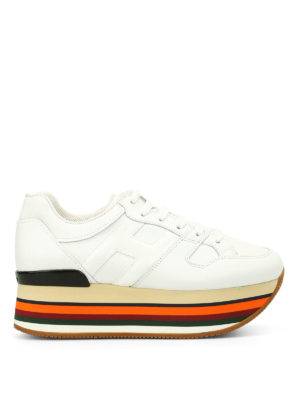 Hogan: trainers - Maxi H283 multicolour sole sneakers