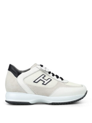 Hogan: trainers - New Interactive leather sneakers