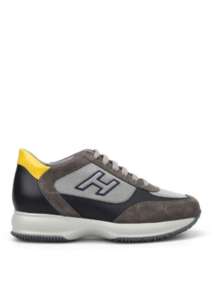 Hogan: trainers - New Interactive two-tone sneakers