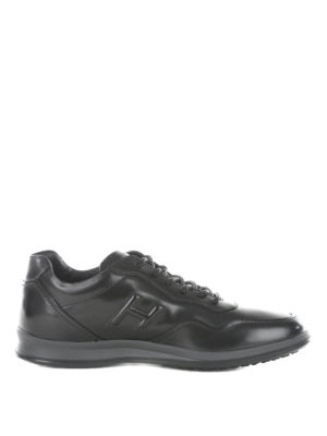 Hogan: trainers - New Olympia leather urban sneakers