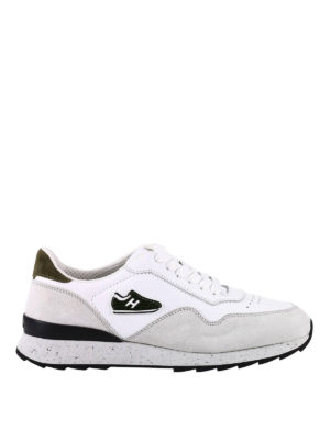 Hogan: trainers - New Rebel 261 white running shoes