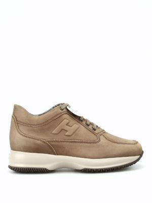 Hogan: trainers - Nubuck Interactive sneakers