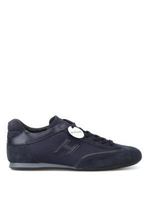 HOGAN: sneakers - Sneaker basse Olympia blu