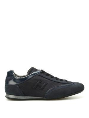 Hogan: trainers - Olympia dark blue nubuck sneakers