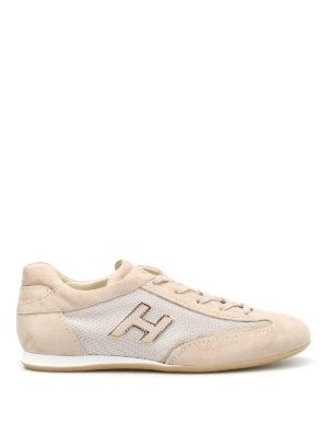 Hogan: trainers - Olympia H Flock sneakers