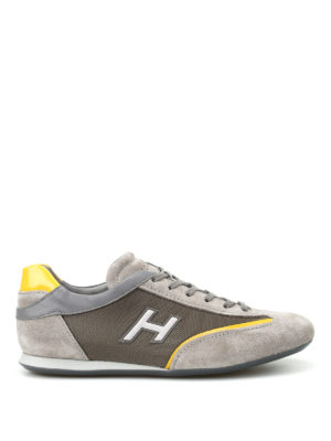 Hogan: trainers - Olympia H Flock sneakers