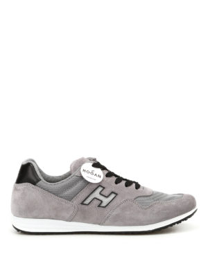 Hogan: trainers - Olympia H205 grey sneakers