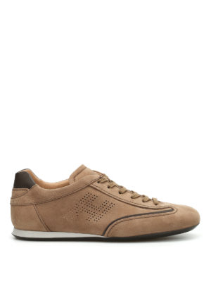 Hogan: trainers - Olympia leather sneakers