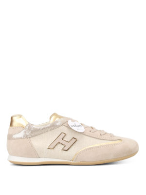 Hogan: trainers - Olympia lurex detailed sneakers