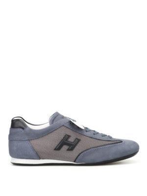 Hogan: trainers - Olympia Slash H3D blue sneakers