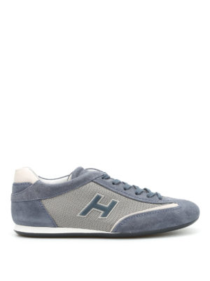 Hogan: trainers - Olympia suede and nylon sneakers