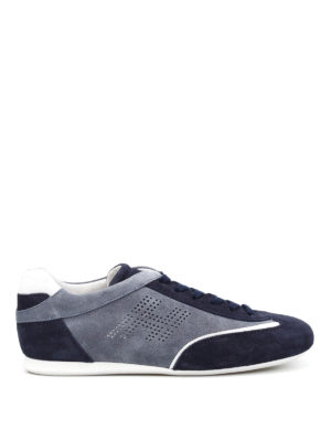 Hogan: trainers - Olympia suede sneakers