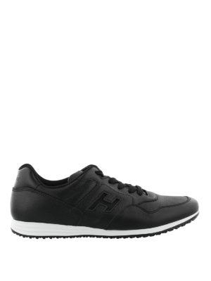 HOGAN: sneakers - Sneaker Olympia X-H205 nere