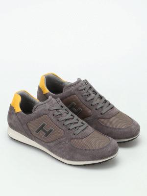 Hogan: trainers online - H205 Olympia nubuck sneakers