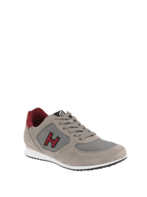 Hogan: trainers online - H205 Olympia suede sneakers