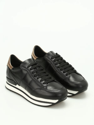 Hogan: trainers online - H222 leather sneakers