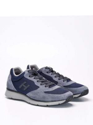 Hogan: trainers online - H254 H Flock sneakers