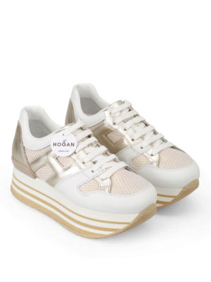 Hogan: trainers online - H283 sneakers with maxi 222 sole