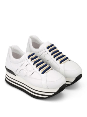 Hogan: trainers online - H283 striped laces sneakers