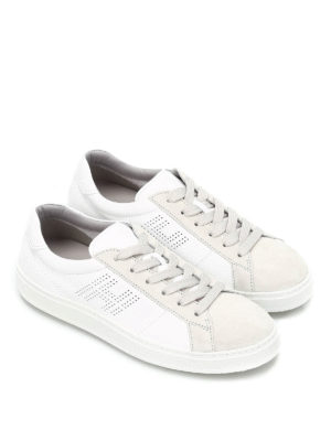 Hogan: trainers online - H302 leather and suede sneakers