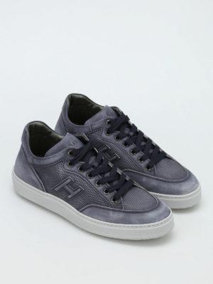 Hogan: trainers online - H302 nubuck sneakers