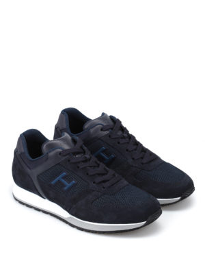Hogan: trainers online - H321 blue sneakers