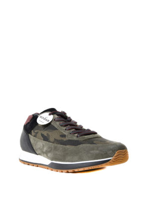 Hogan: trainers online - H321 camouflage print sneakers