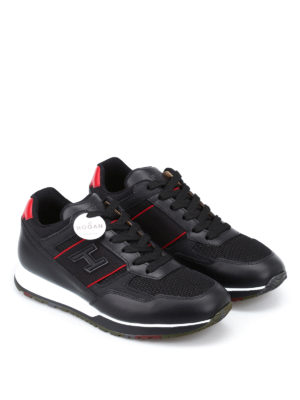 Hogan: trainers online - H321 leather sneakers