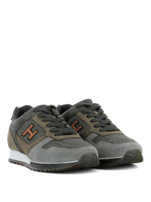 Hogan: trainers online - H321 multi fabric sneakers