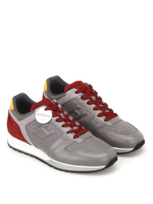 Hogan: trainers online - H321 multicolour sneakers