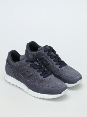 Hogan: trainers online - H321 perforated leather sneakers