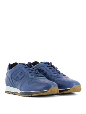 Hogan: trainers online - H321 sporty chic leather sneakers